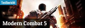 Modern Combat 5 Review