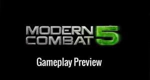"""""""Modern Combat 5: Blackout"""" im Preview-Video & ein paar weitere Infos"""