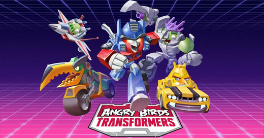 Angry Birds Transformers iPhone iPad Preview