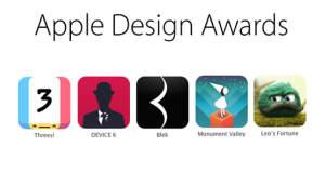 """Herzlichen Glückwunsch: Die Gewinner des """"Apple Design Awards 2014"""" stehen fest"""