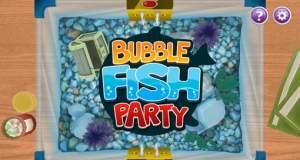 """Partyspiel """"Bubble Fish Party"""" für ein vis vier Spieler: der Kampf ums Aquarium"""