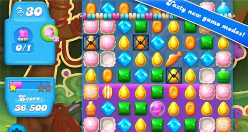 Candy Crush Soda Saga iPhone iPad Preview
