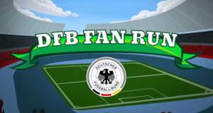 DFB Fan Run: im neuen Fußball-Runner bis nach Brasilien laufen
