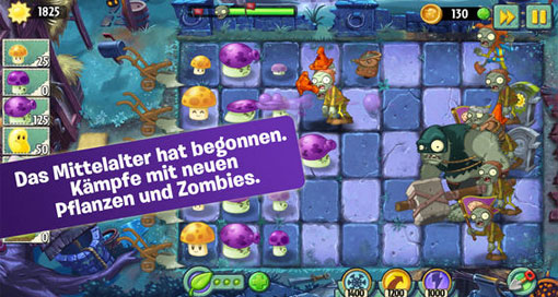 plants-vs-zombies-2-mittelalter-update