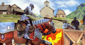 """Rival Knights"" von Gameloft: monotones Lanzenstechen in toller Optik"