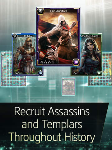 Assassins Creed Memories iPhone iPad Preview