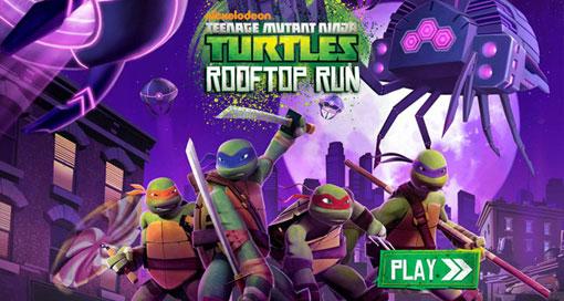 Teenage Mutant Ninja Turtles - Rooftop Run iOS