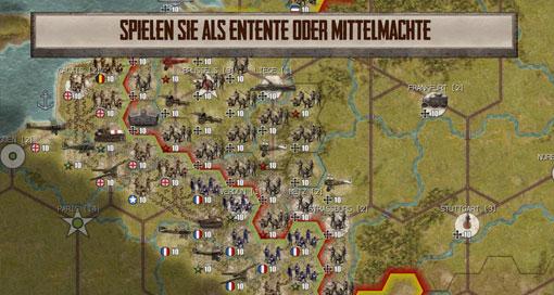 Strategiespiel 2. Weltkrieg
