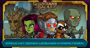 "Neue Helden braucht der AppStore: ""Marvel Guardians of the Galaxy: The Universal Weapon"" erschienen"