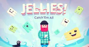 Jellies!: hektisches Geschicklichkeittspiel mit gefrässigen, bunten Wesen