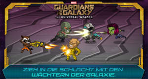 """Marvel Guardians of the Galaxy: The Universal Weapon"" ist Apples Gratis-Spiel der Woche"
