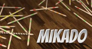 Mikado: weltberühmtes Stäbchenspiel neu im AppStore