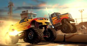 MMX Racing: riesige Monster Trucks, beeindruckende Grafik, aber…