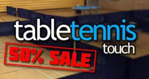 """50% sparen: """"Table Tennis Touch"""" erstmals reduziert"""