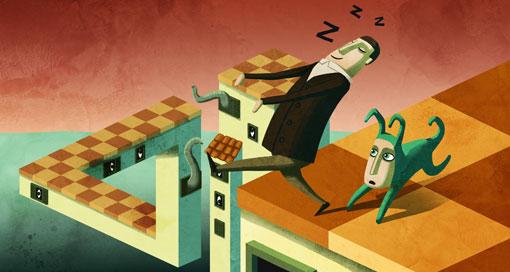 """Puzzle-Platformer """"Back to Bed"""" erstmals kostenlos"""