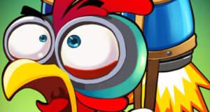Mad Rooster: ein Hühnchen mit Raketenantrieb