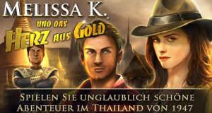 """Tolles Puzzle-Adventure """"Melissa K. und das Herz aus Gold HD"""" kann kostenlos ausprobiert werden"""