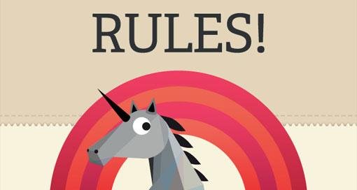 """Regel-Spiel """"Rules!"""" für weniger als einen Euro laden"""