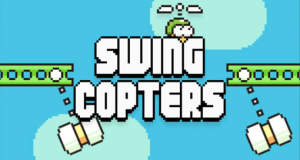 "Swing Copters: ""Flappy Bird"" in Hardcore"