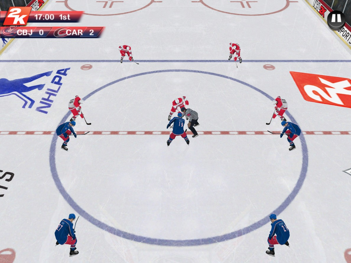 NHL 2K_Columbus VS Carolina