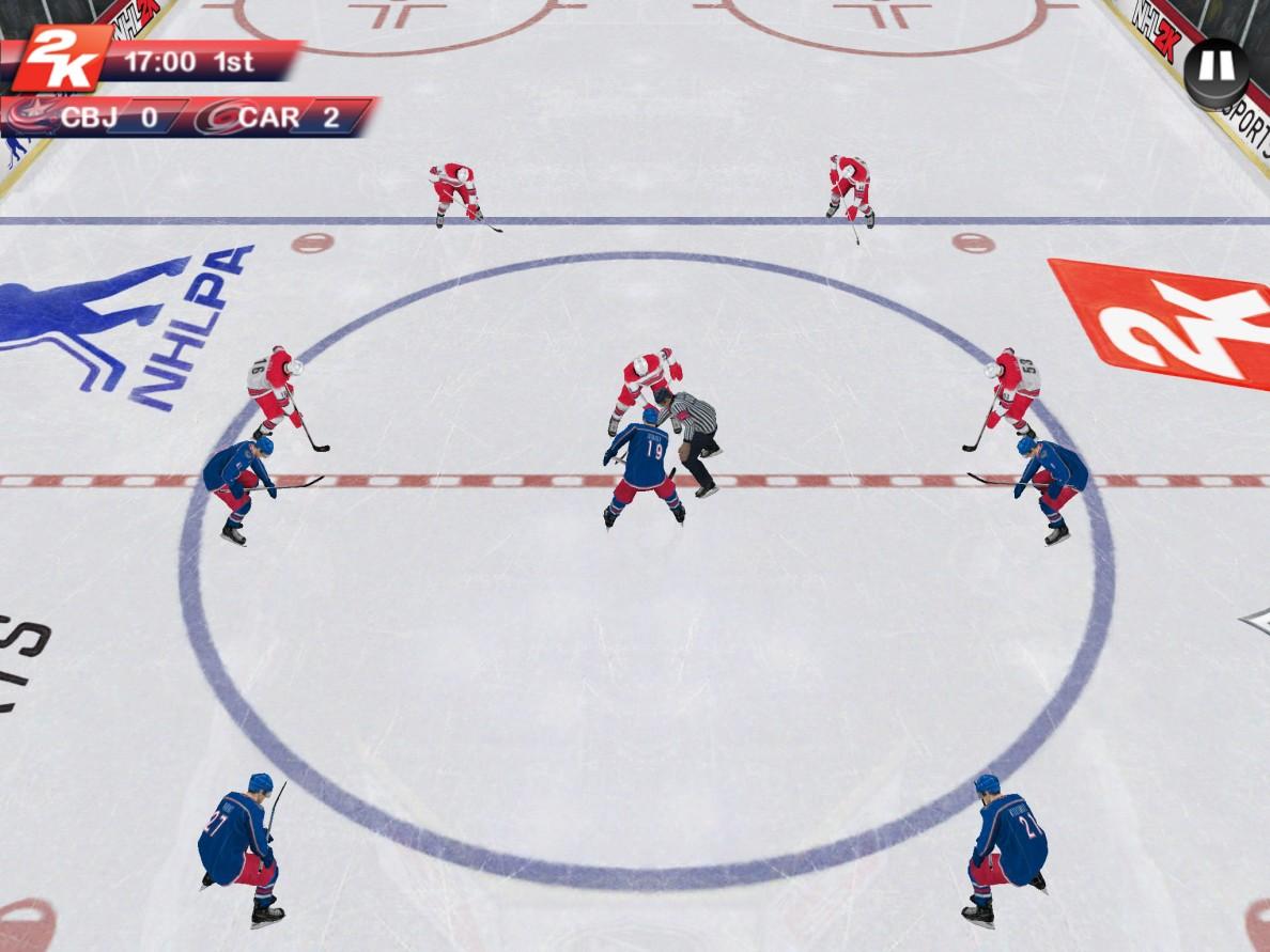 NHL 2K_Columbus VS Carolina