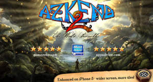 """Puzzle """"Azkend 2 – The World Beneath"""" für iPhone & iPad wieder kostenlos"""