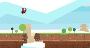 """Komplett kostenloser Plattformer """"Glue Knight"""" erfordert volle Konzentration & schnelle Reaktionen"""