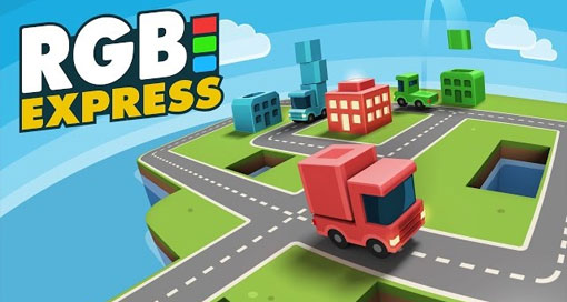 """Tolles Puzzle """"RGB Express"""" zum halben Preis laden"""