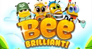 Bee Brilliant: ein klassisches F2P-Match-3-Puzzle mit bunten Bienen