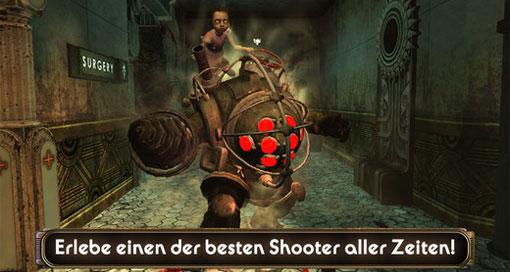"""""""BioShock"""" erhält iPhone-6-Optimierung & deutsche Audio-Ausgabe"""