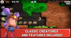 Boulder Dash 30th Anniversary: F2P-Neuauflage eines Spieleklassikers neu im AppStore