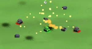 Bumper Tank Battle: Autoscooter mit Panzern als werbefinanzierter Gratis-Download