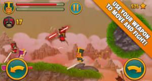 """""""Cloud Knights"""" bietet witzige Ritterkämpfe mit ungewöhnlicher Fortbewegung für ein bis zwei Spieler"""