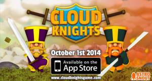 """Witzige Ritterkämpfe in """"Cloud Knights"""" für ein bis zwei Spieler schon reduziert"""