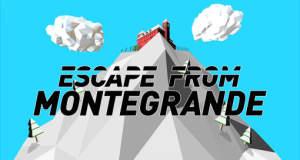 Escape from Montegrande: eine wilde Verfolgungsjagd auf Skiern über einen verschneiten Berghang