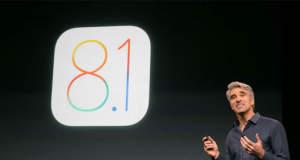 iOS 8.1 ist jetzt verfügbar