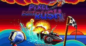 """Retro-Racer """"Pixel Boat Rush"""": witzige Raserei durchs kühle Pixel-Nass"""