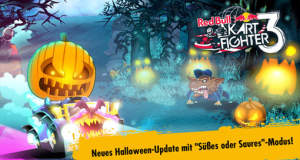"Halloween-Update: in ""Red Bull Kart Fighter 3"" gibt es nun Süßs oder Saures"