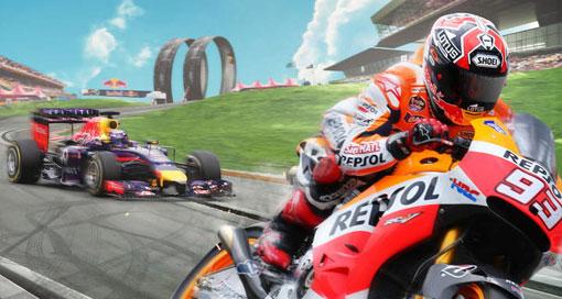 """Jetzt geht es in """"Red Bull Racers"""" auch auf zwei Rädern rund"""