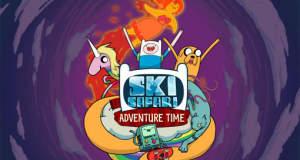 "Verrückte Ski-Abfahrt ""Ski Safari: Adventure Time"" gratis laden & mit neuem Content"