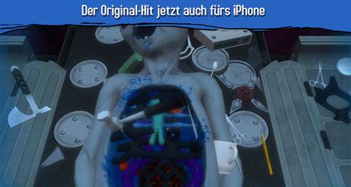 """Der """"Surgeon Simulator"""" operiert jetzt auch auf dem iPhone"""