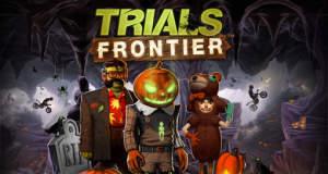 """Kürbismatsch statt Kürbisgesicht: Auch in """"Trials Frontier"""" hält Halloween Einzug"""