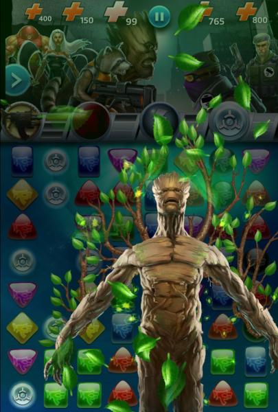 Marvel Puzzle Quest iPhone iPad
