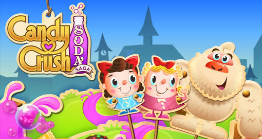 "Kings neues F2P-Puzzle ""Candy Crush Soda Saga"" im AppStore erschienen"