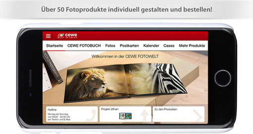 """Individuelle Foto-Geschenke mit der """"Cewe Fotowelt""""-App"""