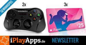Gewinnspiel: zwei Steelseries Stratus MFi-Controller & drei 25€-iTunes-Gutscheine zu gewinnen (die Gewinner)