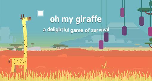"""Ungewöhnlicher Endless-Runner """"oh my Giraffe"""" erstmals kostenlos"""