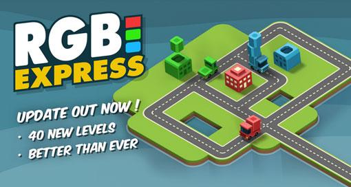"""LKW-Puzzle """"RGB Express"""" mit 40 neuen Leveln & iPhone-6-Optimierung"""