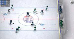 Stickman Ice Hockey: Djinnworks Strichmännchen spielen jetzt auch Eishockey