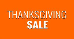 Thanksgiving Sale: die Amerikaner feiern, wir sparen… (Update)